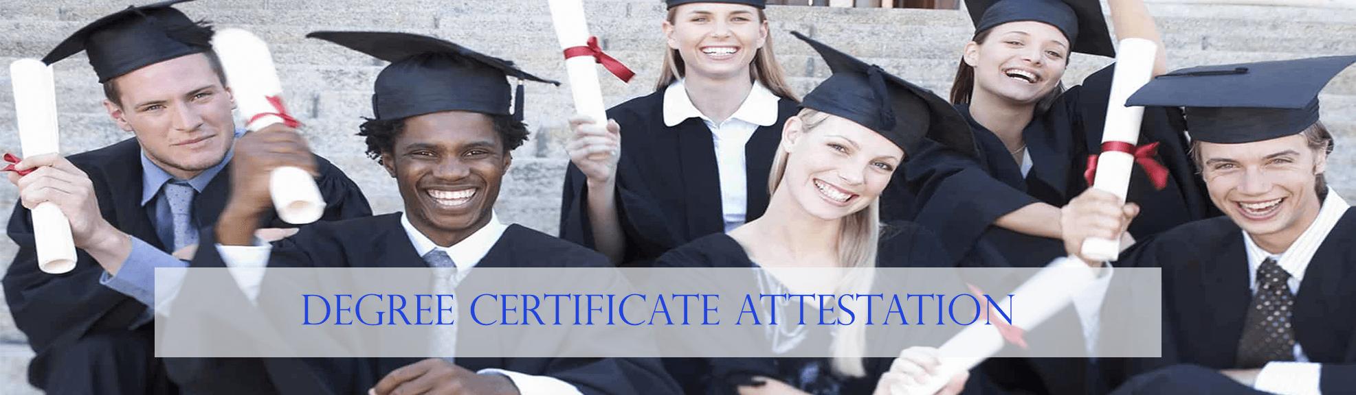 Degree Certificate Attestation in UAE